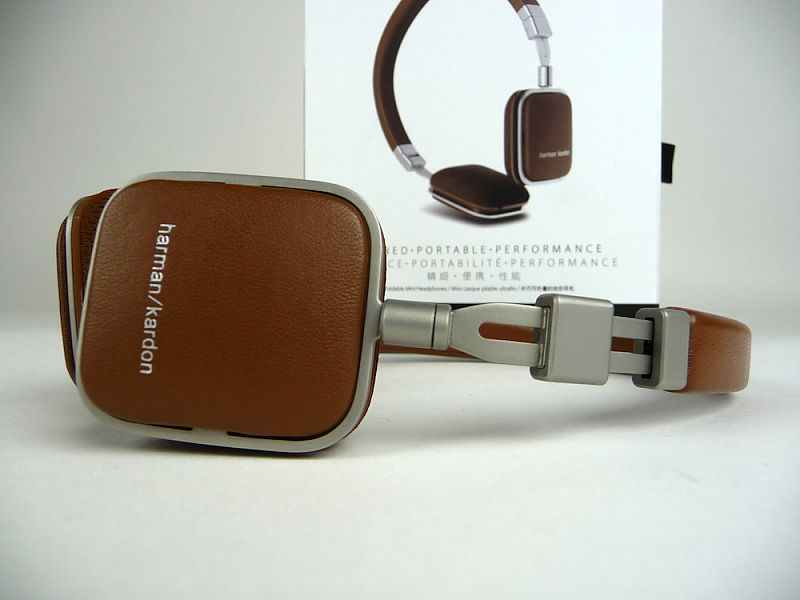 Harman Kardon On-Ear Headphones Soho I Brown